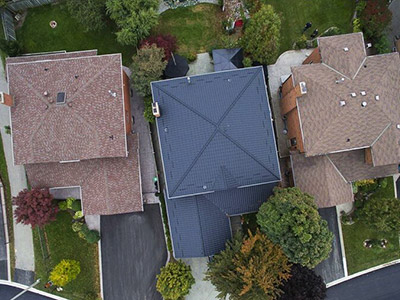 Burlington metal roofing